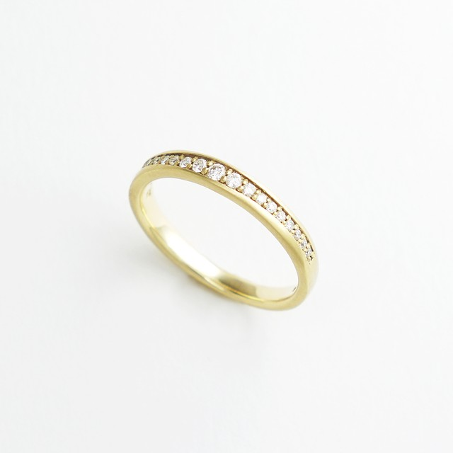 The Heritage half eternity ring