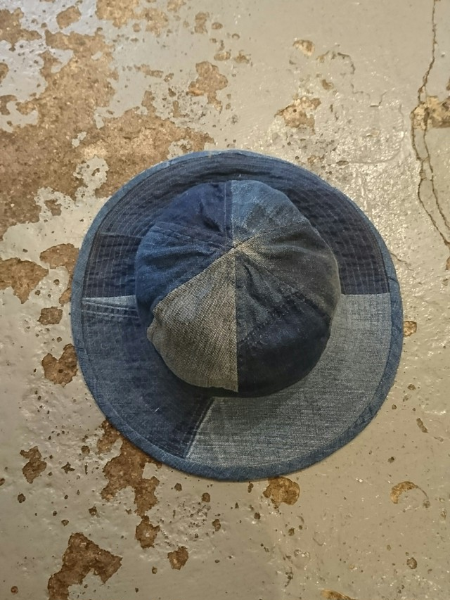 "BAA COSTUME MFG. ""DENIM ARMY HAT"""