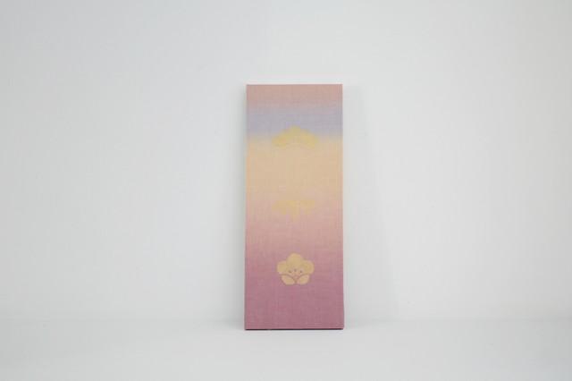パネル 松竹梅|中紅花