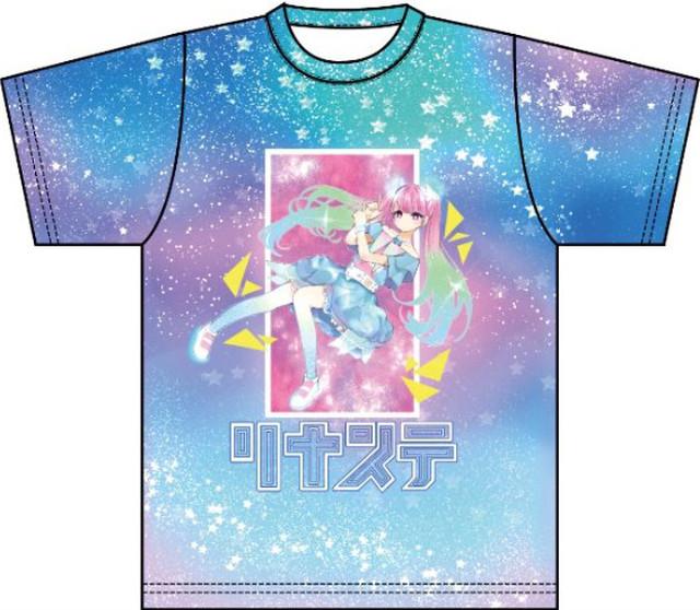 リナステオフィシャルTシャツ第二弾!鶴島たつみデザインTシャツ