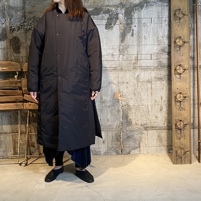 HYKE【ハイク】 NYLON OXFORD COAT (17271/BLACK).