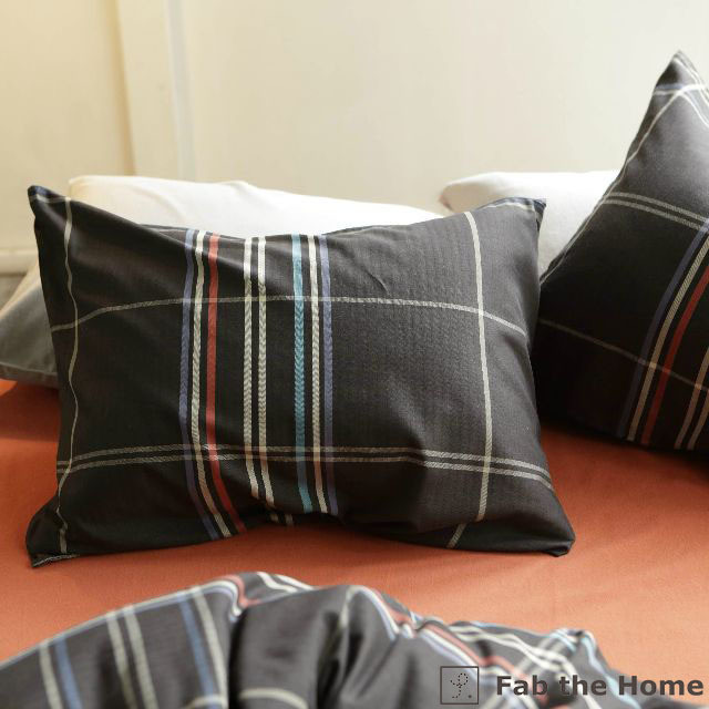 Chic stripe ピローケース(封筒式) まくらカバー Mサイズ fab the home 森清 FH112151