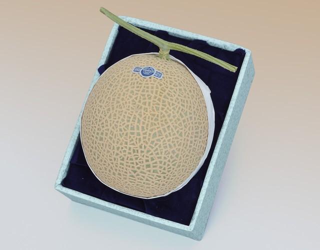 【通年ギフト(メロン)】静岡産 クラウンマスクメロン【1玉約1.4kg】
