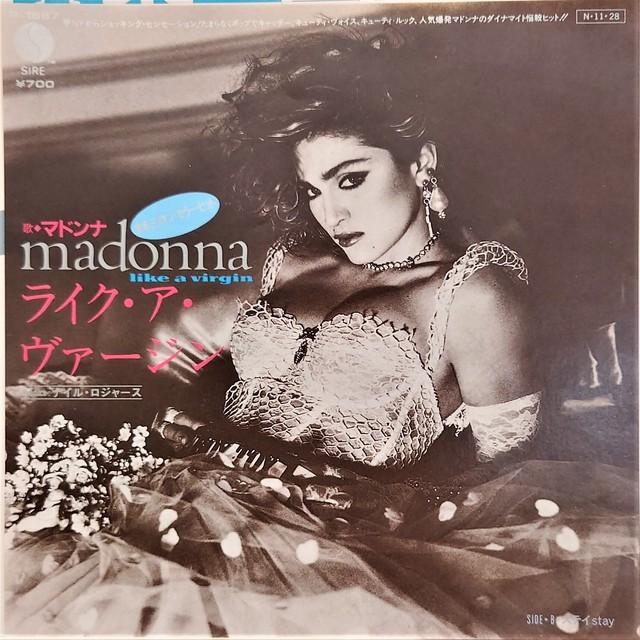 [中古7inch]  Madonna - Like A Virgin