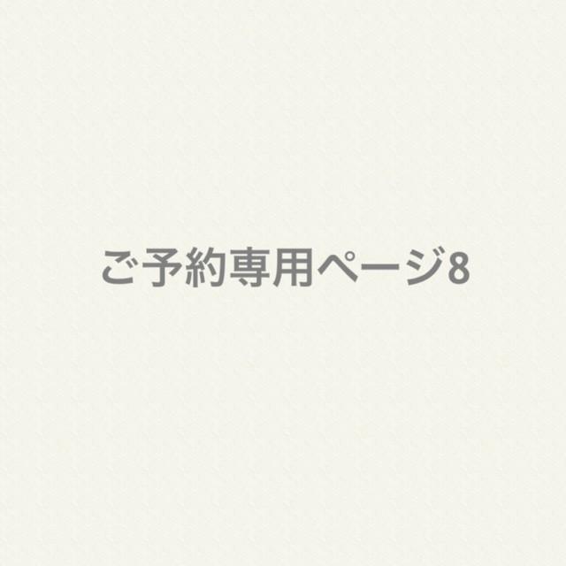 ご予約専用ページ8