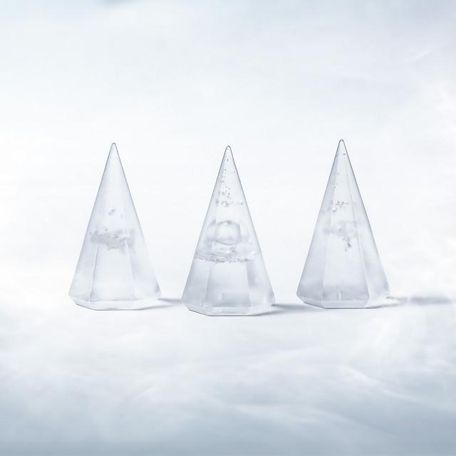 光のお供え【 水・米・塩 】:薄霧 (うすぎり)