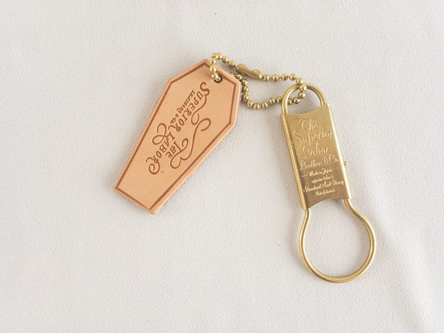 THE SUPERIOR LABOR Ribbon key ring / リボンキーリング