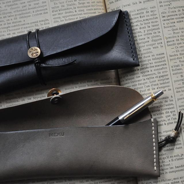 tomeri leather pen case