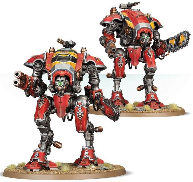 IMPERIAL KNIGHTS: ARMIGER WARGLAIVES