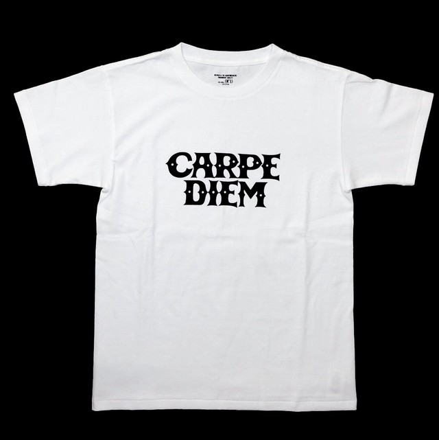 BEDWIN & THE HEARTBREAKERS x CARPE DIEM shirt (white)