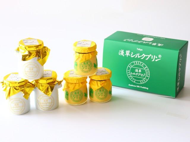 1F 浅草シルクプリン|プレミアムシルクと季節のプリンセット(東京都台東区浅草)