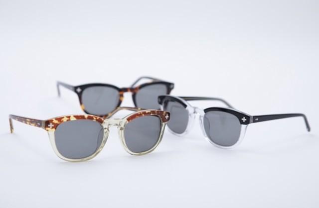 "EVILACT  eyewear ""YALF 2"" (スモークレンズ)"