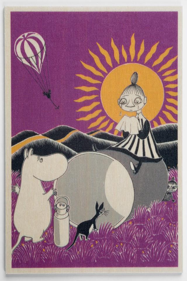 白樺ポストカード 10x15cm ムーミン 「サニー」