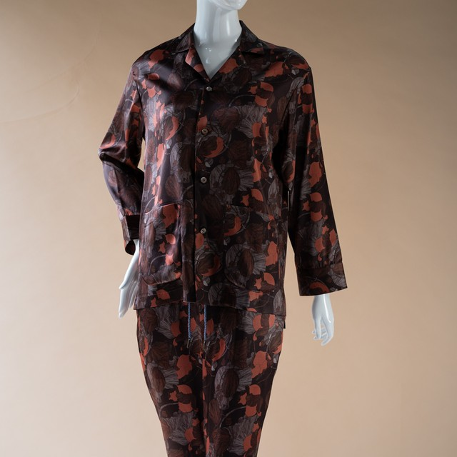 Nu Pajamas Tops Chocolate print (ユニセックス)