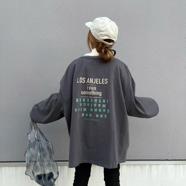 Message BackロゴBIGSW/charcoal