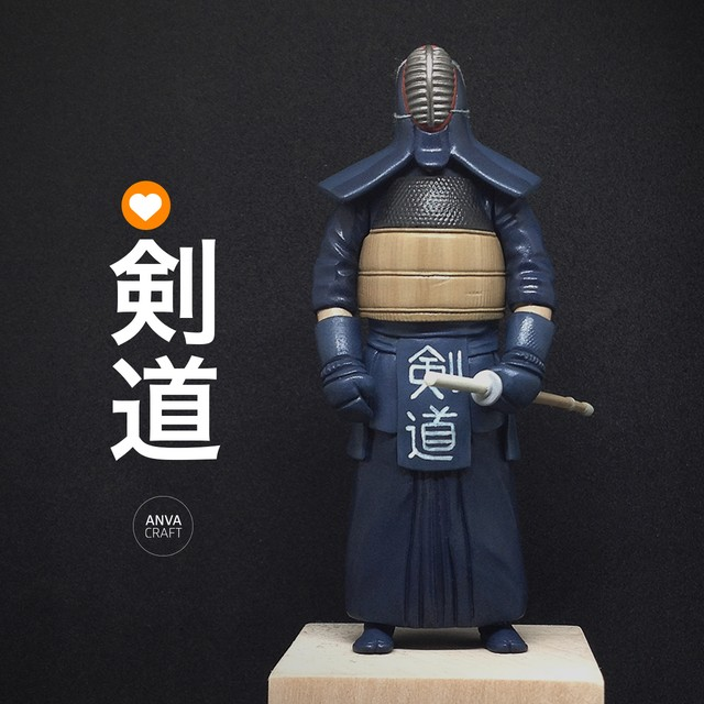 ANVA CRAFT KENDO - 1/20 resin model kit