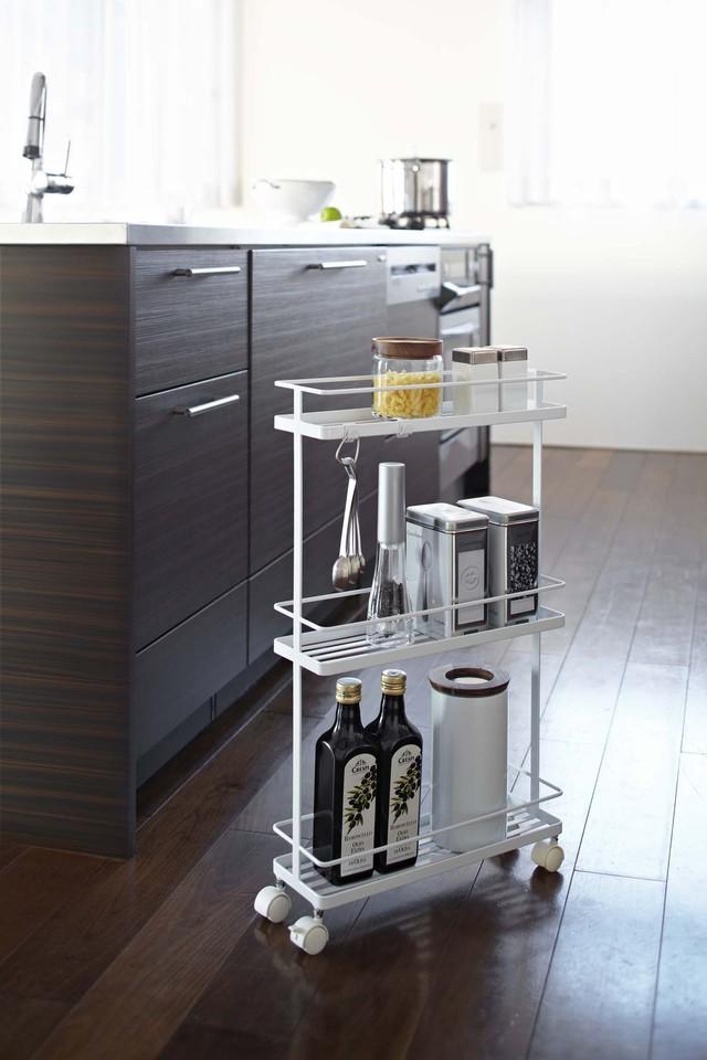 キッチンをスタイリッシュに!! キッチンペーパーホルダー マグネット冷蔵庫サイドラック プレート