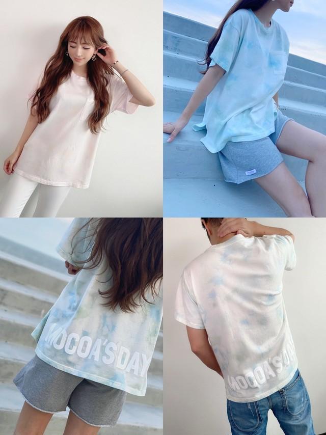 再入荷!mocoa'sカラー タイダイTシャツ ¥5,300+tax