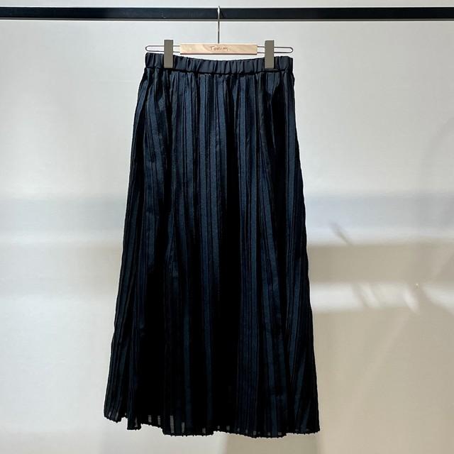ストライプフリンジジャガードスカート