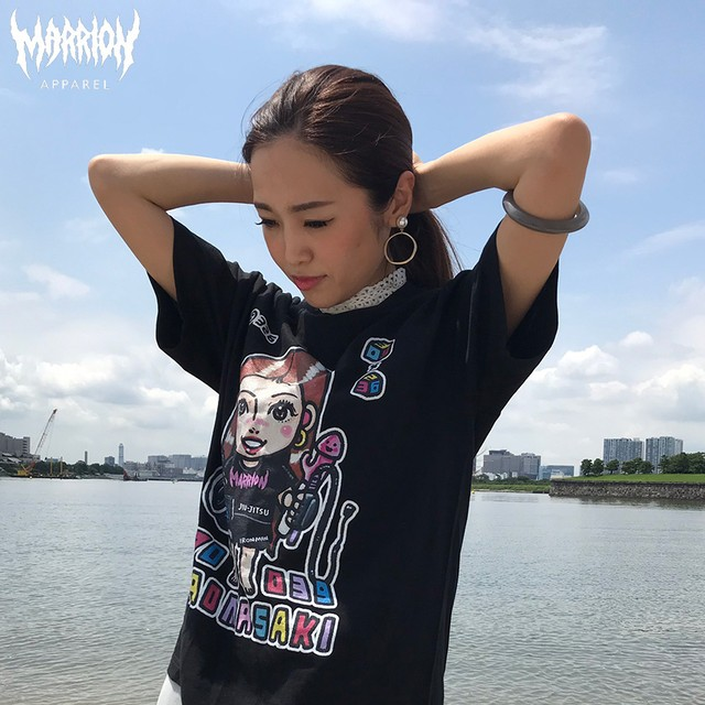 【Cotton100%】Masaki Nao With 326 Tee (Black)