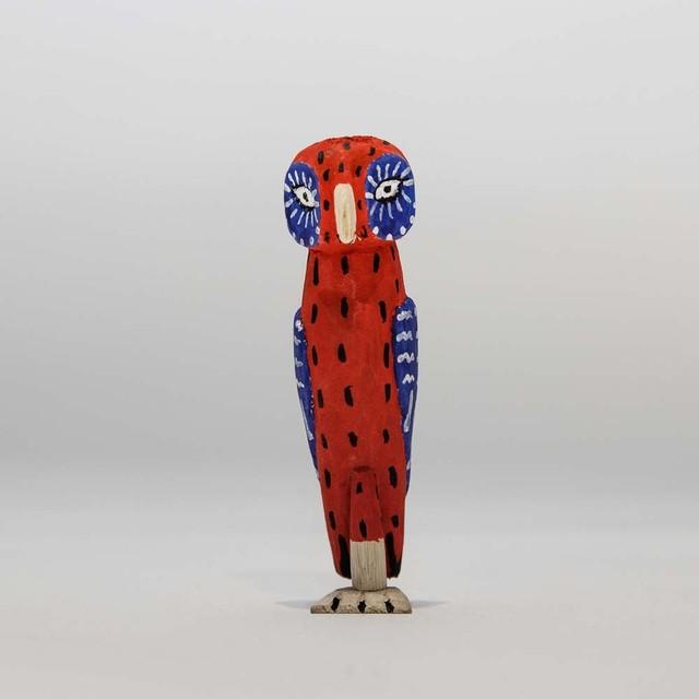 Alebrijes bird-Red