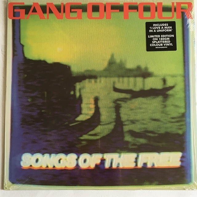 【新品・LP・米盤】Gang of Four / Songs of The Free