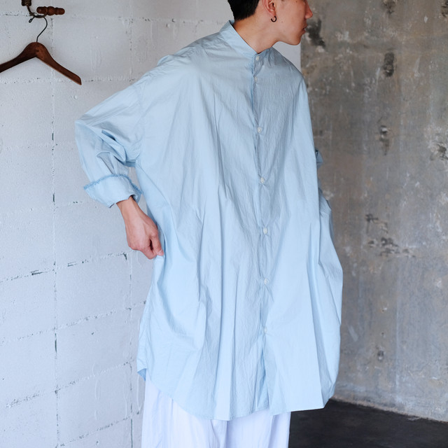 Big shirt  [ Pale Blue ]