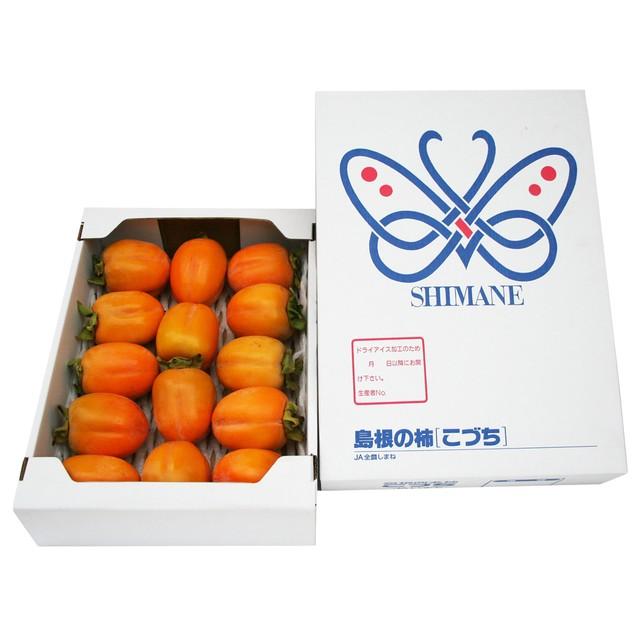 西条柿【2.5kg】<2L>14玉 出荷時期【10月中旬~11月中旬】