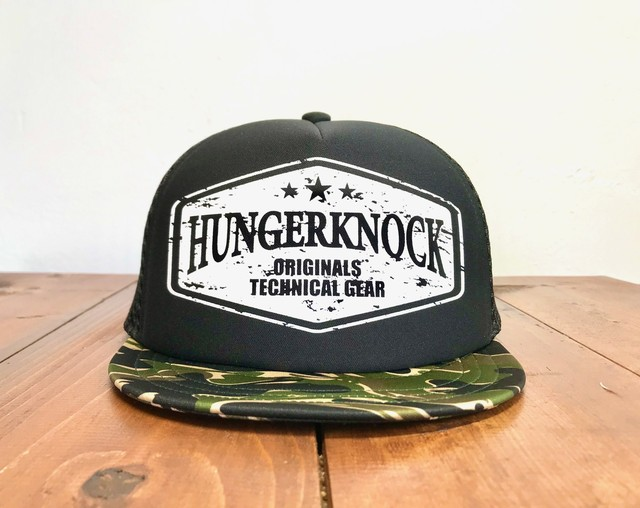 【Hunger Knock】 Tsubatancap Military Collection(Black Camo)