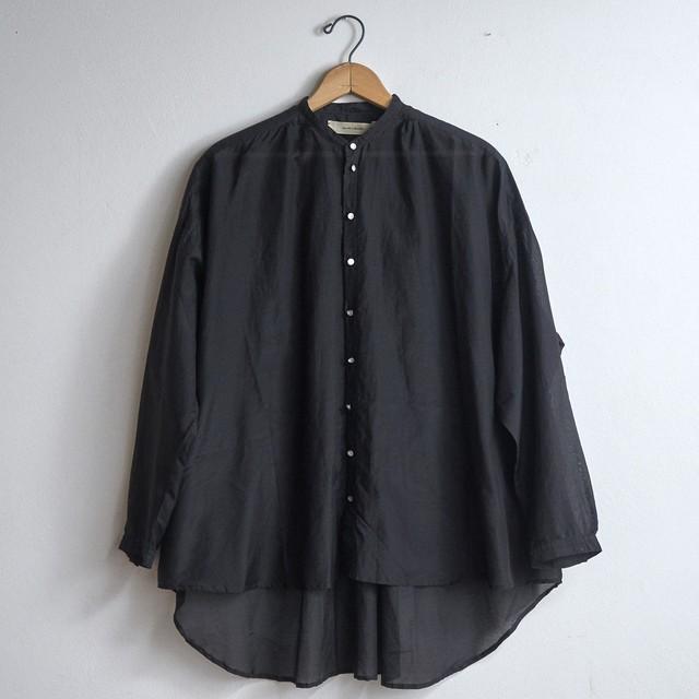 suzuki takayuki スズキタカユキ over blouse black S211-06 (レディース)