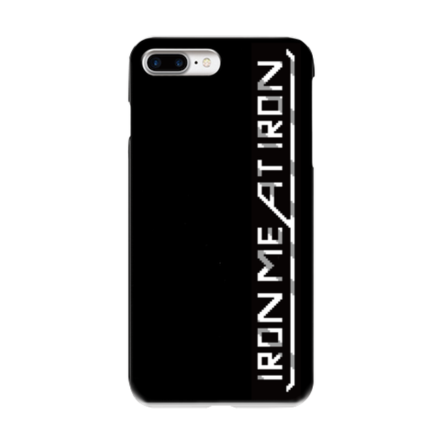 iPhone7Plusケース【IRON MEAT IRON ロゴ】【送料無料】