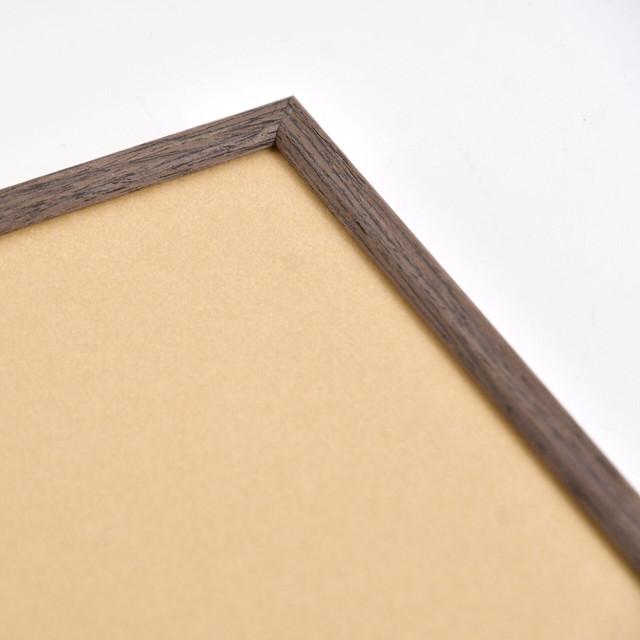 木製シンプルウッドフレーム ブラウン <A3サイズ用>