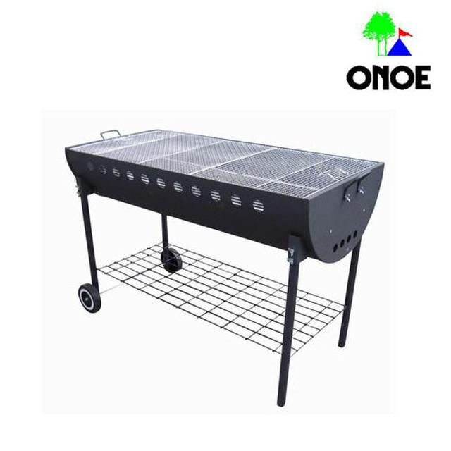 尾上製作所 (ONOE) 鉄鋳物グリル2937 BBQ バーベキュー コンロ アウトドア 用品 キャンプ グッズ レジャー 炭 木炭 焚火 調理 料理 オーブン グリル CI-2937