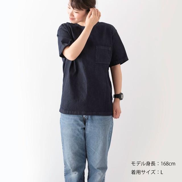 21S Denim T-shirt【デニムTシャツ】color  ID / GRY / ECRU
