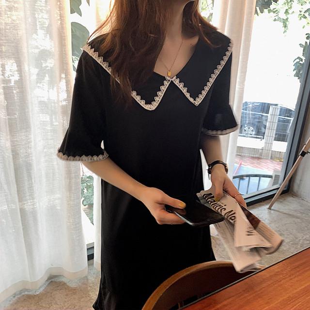 【dress】フェミニンな雰囲気切り替え可愛いワンピース