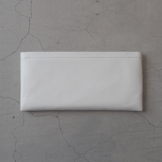 Aeta LONG WALLET White