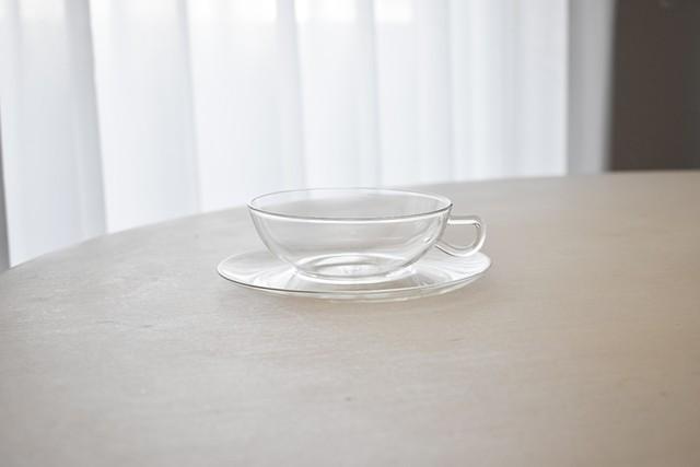 Saale Glas glass tea c&s(Wilhelm Wagenfeld)