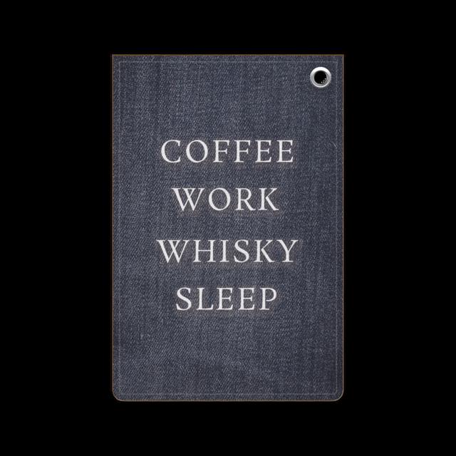 COFFEE WORK WHISKY SLEEP 定期入れ