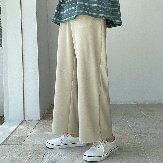 simple flare pants PD2685