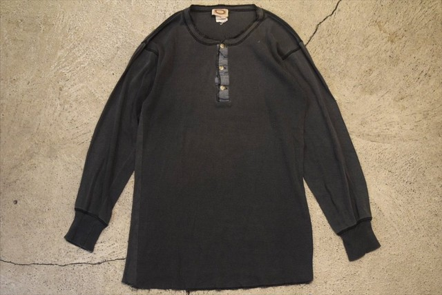 USED 90s Bnana Republic Henry Neck T-shirt -Large T0606