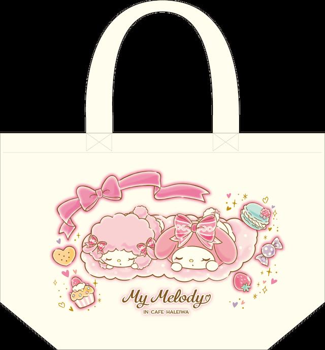 My Melody Cafe ランチトート(おひるね)