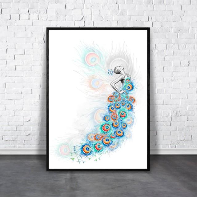 Peacock / 【アートポスター専門店 Aroma of Paris】[AP-000295]