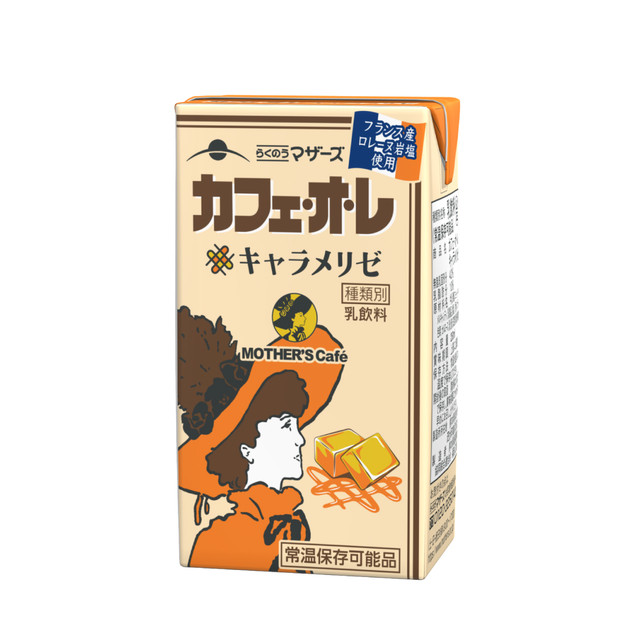 MOTHER'S Cafe カフェ・オ・レキャラメリゼ250ml(24本入り)
