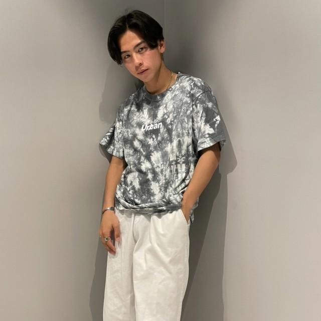 【人気NO.9】Tie dye front logo T-shirts LD0653