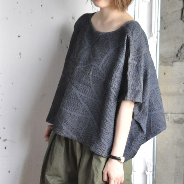sashiko wide tee -pattern-