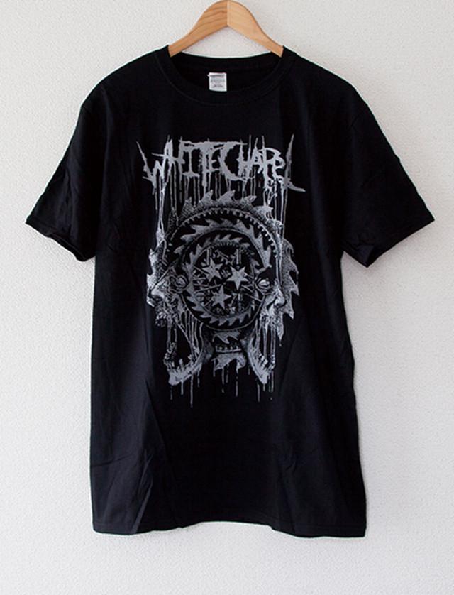 【WHITECHAPEL】Jaws T-Shirts (Black)