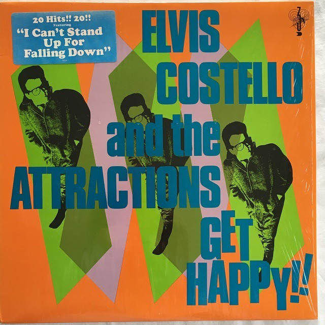 【LP・米盤】Elvis Costello & The Attractions / Get Happy !!