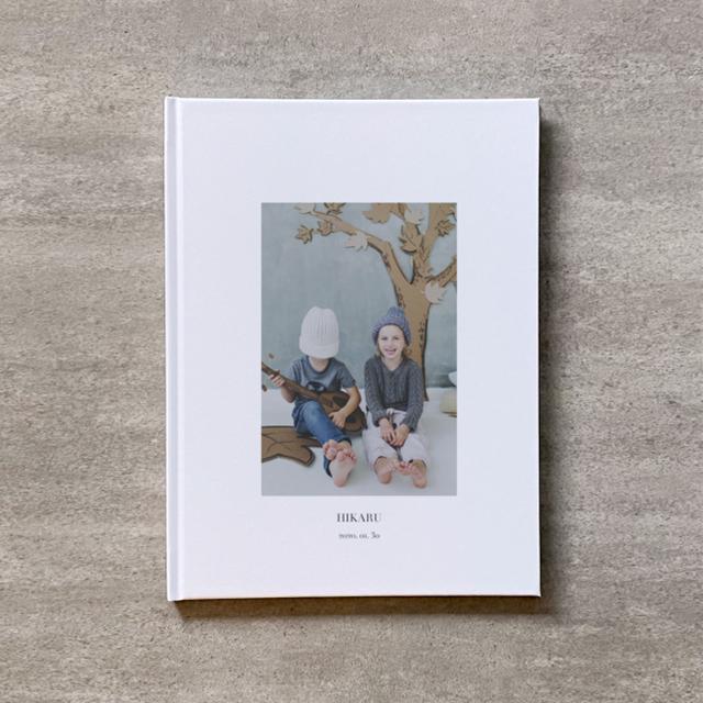 Square flame(白)-KIDS_B5スクエア_10ページ/10カット_フォトブック
