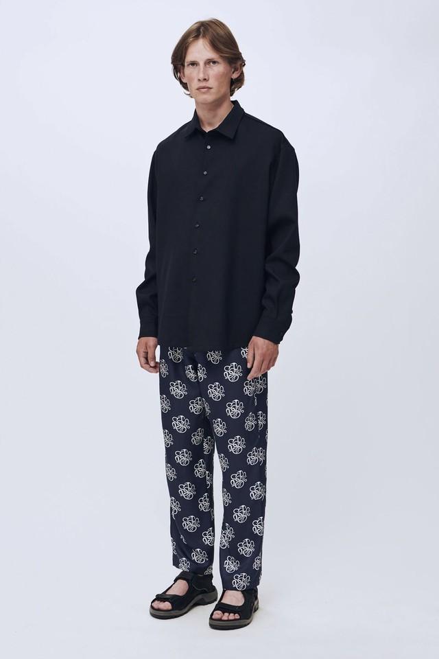 Soulland damon shirt navy