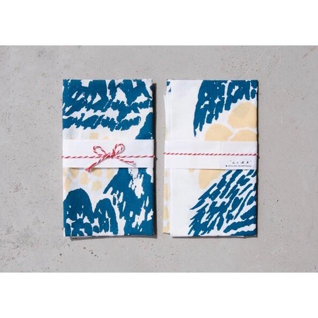 Atsuko Kobayashi 【 てぬぐい『 山の風景 』 】/ handmade / original / 限定 / japan